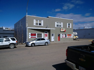 UPDATED AD Retail Office and Shop space For Rent downtown PONOKA