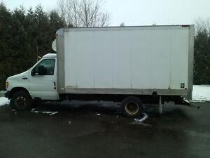 Camion cube Ford E-450 2003 réfrigéré / congelé