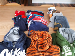 Sweater and t-shirt lot
