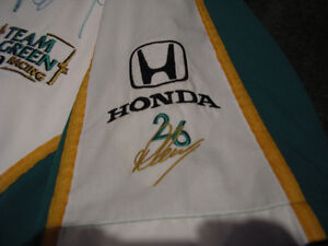 Paul Tracy Canadian Indy car driver signed pit crew shirt Windsor Region Ontario image 5