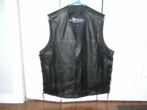 FOR SALE MENS LEATHER VEST