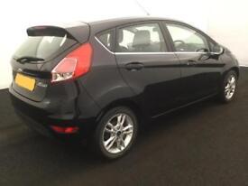 Ford Fiesta 1.0, 1.2, 1.4, EcoBoost Zetec Titanium Black, 5dr FROM £28 PER WEEK!