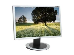 """LG L204WT-SF Silver 20"""" 5ms Widescreen LCD Monitor with f-Engine"""