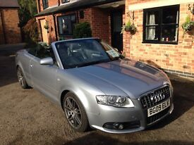 Audi 2.0TDi Cabriolet A4 S-line