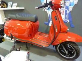 ROYAL ALLOY GP125 A/C retro scooter mod automatic
