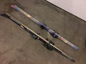 Skis + Bindings+ 1 pair of Boots MOVING SO MUST SELL One set is