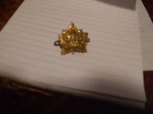 Canadian military pin