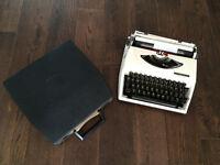 Vintage Small 'Adler' - TIPPA Typewriter - Made in Netherlands