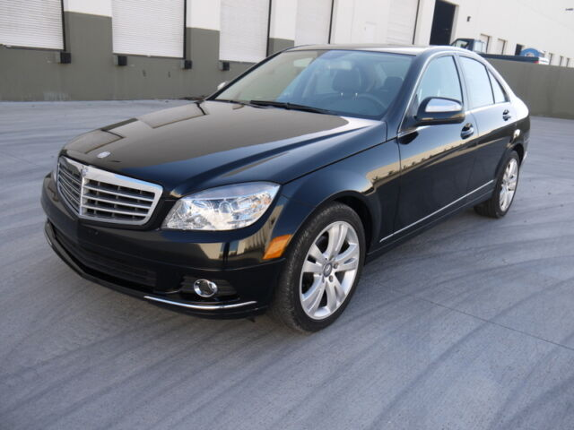 2009 mercedes benz c300 luxury pkg sdn 09 rebuilt salvage for Used mercedes benz c300 for sale