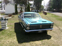 Welcome for A trade on this super nice Mercury Cyclone 1967 .