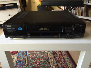 JVC Super VHS pro S video player and recorder