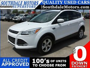 2015 FORD ESCAPE SE * AWD * LEATHER * SUNROOF * REAR CAM * BLUET