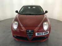2013 ALFA ROMEO MITO LIVE TWIN AIR 3 DOOR HATCHBACK FINANCE PX WELCOME