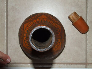 Vintage collectible handmade squash planter pot vase London Ontario image 9