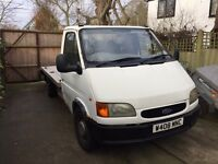 Ford transit turbo diesel recovery truck LEZ complaint beaver tail