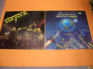 STRYPER SOLDIERS UNDER COMMAND AND YELLOW AND BLACK ATTACK RECOR London Ontario image 1