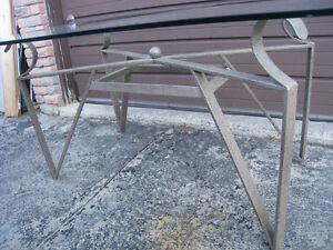 Metal Frame for Dining Table only
