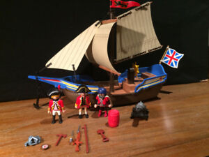Playmobil 5140 Redcoat Battle Ship