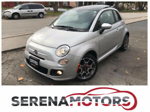 FIAT 500 SPORT AUTO   ONLY 50K   NO ACCIDENTS   LIKE NEW  