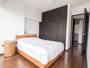 Furnished 2-bed apartment in MExico City (Coyoacan)