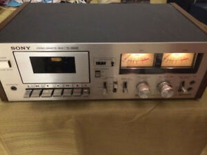 SONY 199SD Cassette Tape Decks. TWO of them