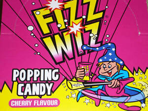 RETRO SWEETS, FIZZ WIZ POPPING CANDY, 3, 6, 9, 12, 15, 18, 21, 24, FULL BOX 50