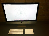 "iMac 5K 27"" + Magic TrackPap 2 et Magic Keyboard 2"