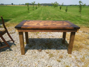 Custom Barnboard furniture