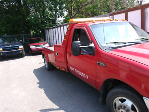 1999 ford f350 towing