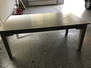 SHABBY CHIC GREY DINING TABLE - EXCELLENT CONDITION