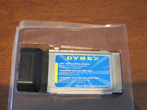 IEEE 1394 Card bus adapter (Dynex DX-FC202)