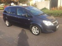2010 Vauxhall zafira active 1.6 petrol 7 seater facelift model
