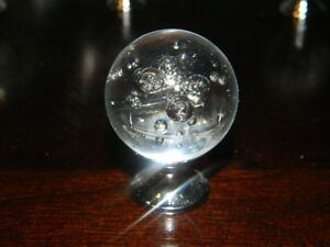 New 10 air bubble transperent crystal pull knobs (with srews)