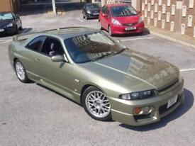 1996 Nissan Skyline Spec 2 GTST 2.5 turbo manual in Millenium Jade