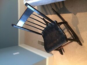 Antique Child's Rocking Chair - Original Paint