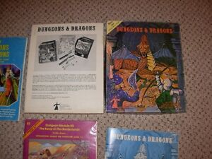 Dungeons and Dragons Basic & Expert Set Sarnia Sarnia Area image 1
