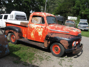 Western 1951 Ford 1/2 ton pickup, very original & complete