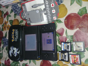 Rare nintendo DSI pokemon black version with games and charger
