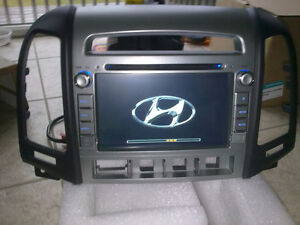 2007 to 2012 hyundai santa fe custom fit gps bluetooth dvd