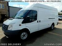 2013 63 FORD TRANSIT LWB, JUMBO, MASSIVE 4 METER LOAD SPACE, F.S.H., ONE OWNER