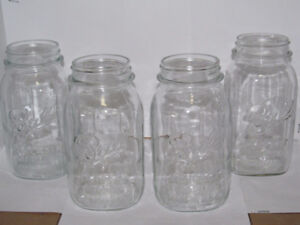 vintage mason jars for centerpieces or crafts
