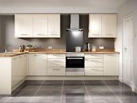 Brand new kitchen handles and doors