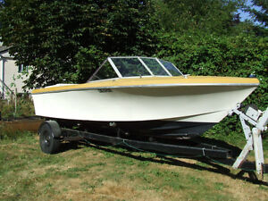 18 1/2 ft. boat for sale or parts available