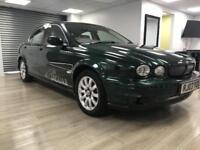 Jaguar X-TYPE 2.5 V6 SE 4X4 GREEN WARRANTY 12 MONTHS MOT FULL SERVICE HISTORY