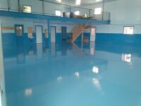 Commercial/Industrial Diamond Polished Concrete & Epoxy Flooring