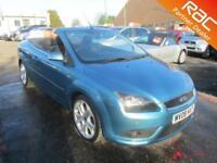 2008 Ford Focus Convertible 2.0 145 CC 2 Petrol blue Manual