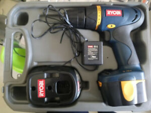 Ryobi Cordless Drill 7.2v Battery Charging Dock New Condition