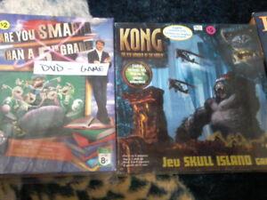 Board & DVD Games.