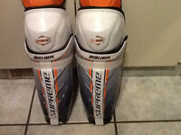 "Bauer one sixty 14"" shin pads"