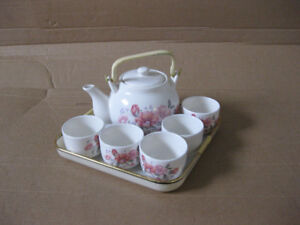 Porcelain Tea Set Tea Pot and cups